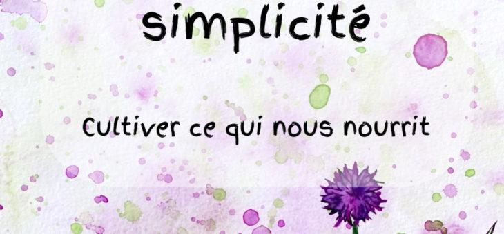 Éloge de la simplicité